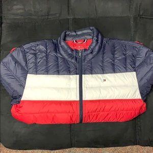 Tommy Hilfiger natural down packable jacket